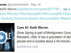 PodCast- CASEFILE 43-http://casefilepodcast.com/case-43-keith-warren/