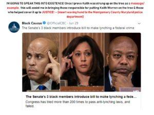 Bill to make lynching a federal crime