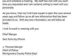 Letter from Chief Manger
